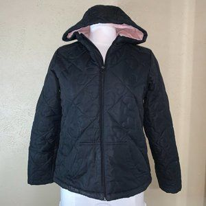 Magellan Outdoors Sherpa Quilted Jacket Black XL